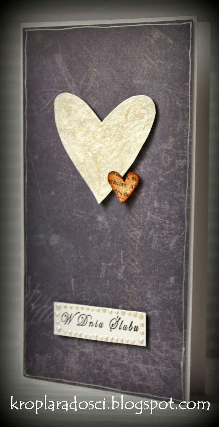 KROPLA RADOŚCI: Jak miłość, to i ślub!