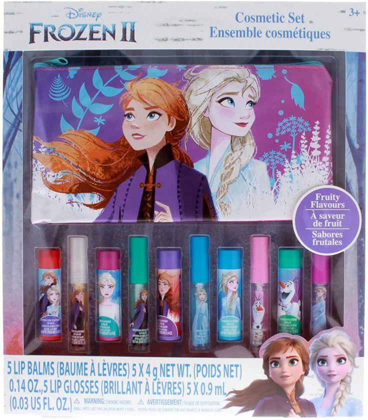 Frozen 2 Girls Cosmetic Tote Nail Polish Lip