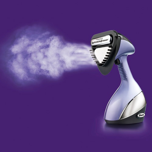 New clothes steamer - no iron. Easy. Fast. Compact. Love!  Shark.