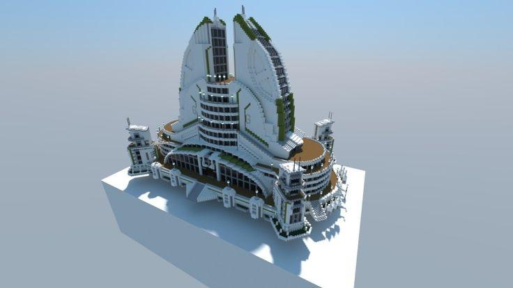 Anno 2070 Recreation 01: Leisure Center | Minecraft Building Inc