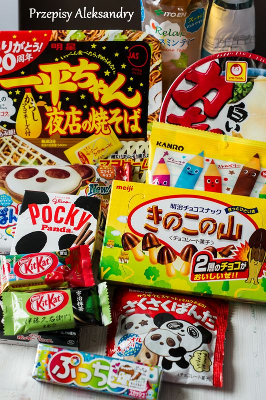 Tasting the World: Japanese snacks / Próbujemy świat: japońskie przysmaki