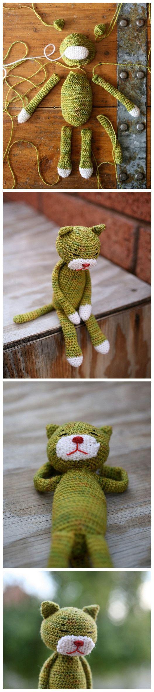 Luty Artes Crochet: Pap de amigurumi.