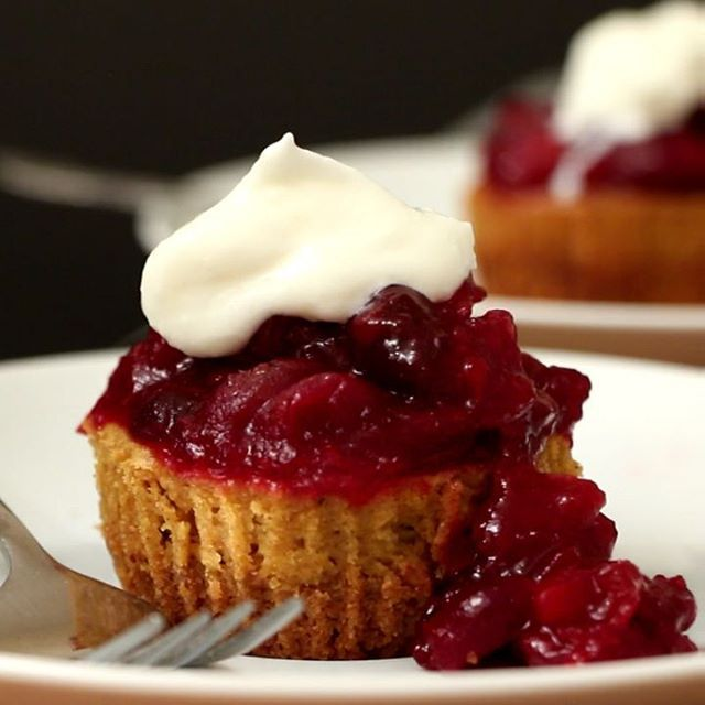 ACME Markets is a one-stop shop for all of my holiday baking needs! I can't wait to try this incredible Mini Cranberry Pumpkin Cheesecakes recipe for my next holiday party. With over 400 USDA-certified O Organics products throughout the store, anyone can get great-tasting organic food at a great value at ACME Markets. AD http://onbetterliving.com/mini-cranberry- pumpkin-cheesecakes/