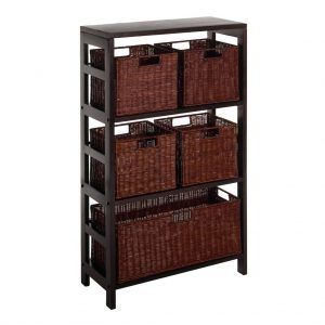 Wicker File Cabinets Drawers