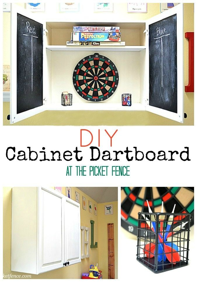 22 best basement makeover images on pinterest for Diy dartboard lighting