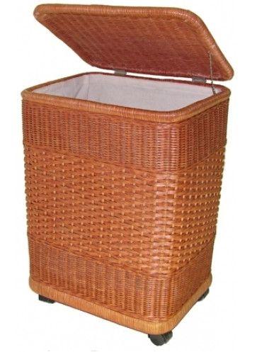 Корзина для белья из ротанга 16/06 s - «РумЛинк» - мебель онлайн в Санкт-Петербурге