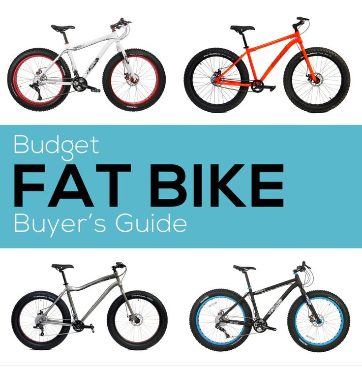 Buyer's Guide: Budget Fat Bikes https://www.singletracks.com/blog/mtb-gear/fat-bike-buyers-guide-budget-models/