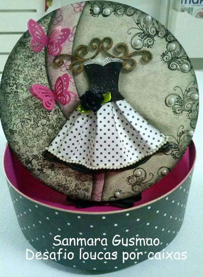 Caja de vestidos