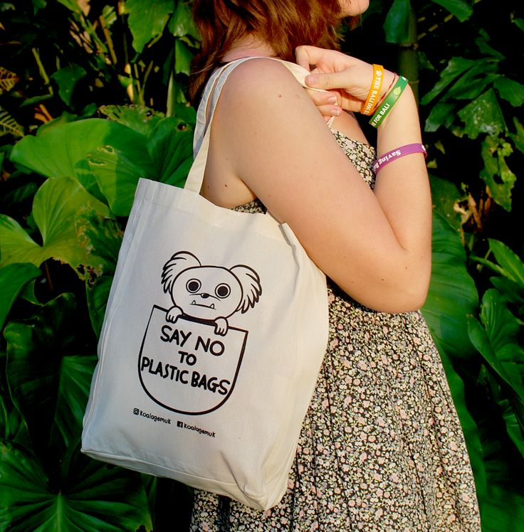 Support Bali dogs and be fantastic without plastic. Koala Gemuk is an ambassador for rescue dogs & the environment #plastic #bag #saynottoplastic #dog #reduce #bringyourownbag #adoption #rescuedog