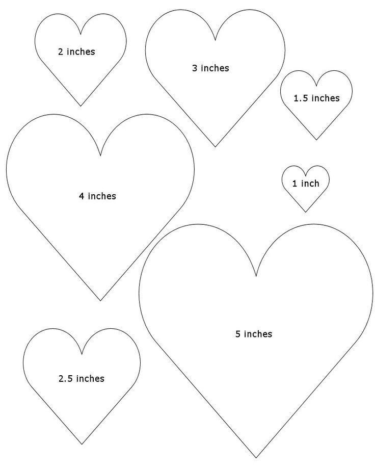 Free Heart Shape Template 0993033a8c1713cc8459e92615830c98 Felt