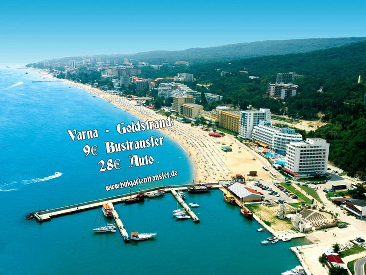 Günstige Preise für Flughafen-Hotel Transfer in Bulgarien!  Varna - #Goldstrand: ab 9€ pro Person