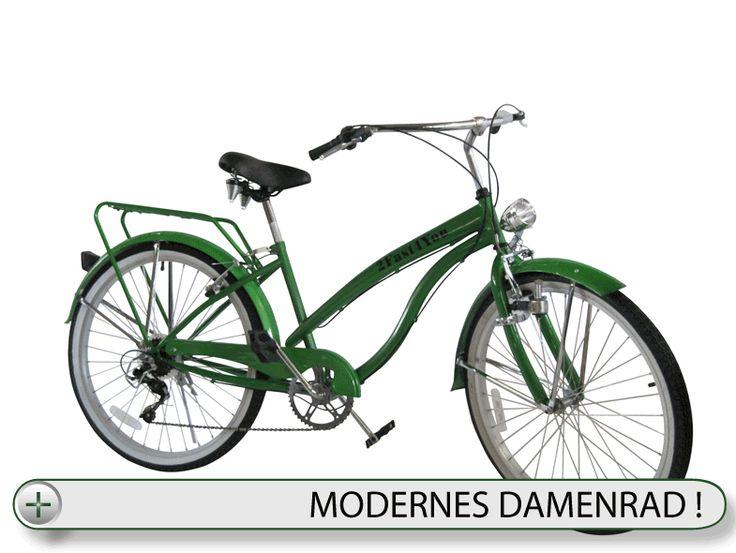 26 Zoll Damen Beachcruiser grün Beach Cruiser Custom Fahrrad Retro Nostalgie | eBay