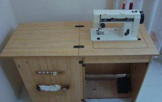 muebles para máquinas de coser
