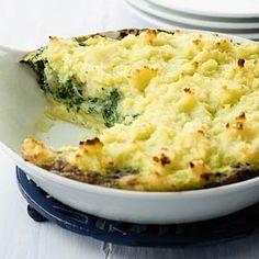 Recept - Ovenschotel van spinazie met kaas/ spinach and cheese