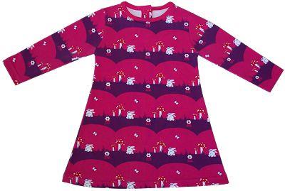 Kostenlose Nähanleitung Mädchen-Kleid aus Jersey (Fabrik der Träume)