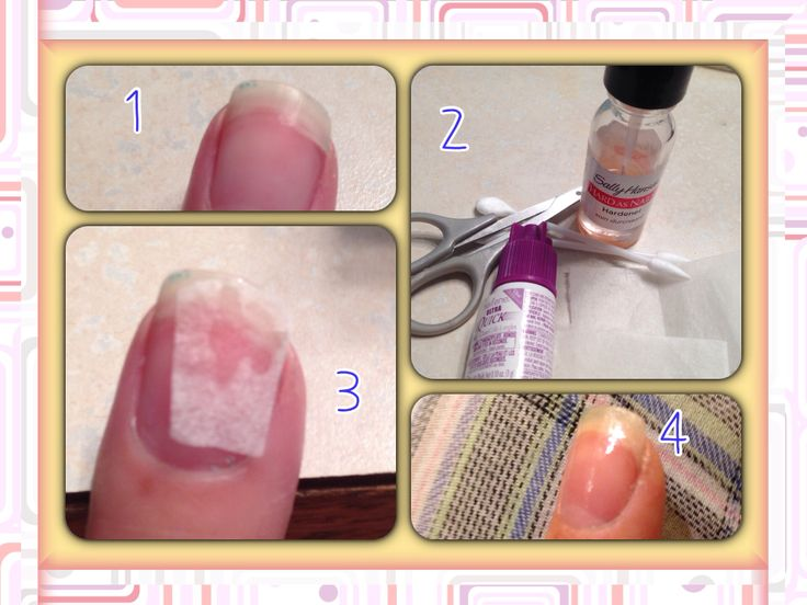 Did your nail chip or crack? Sad isn't it. Well how to
