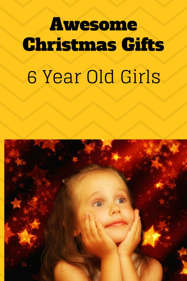 What to buy a 6 year old girl for Christmas! Find lots of cool Christmas presents and gifts for girls aged 6!