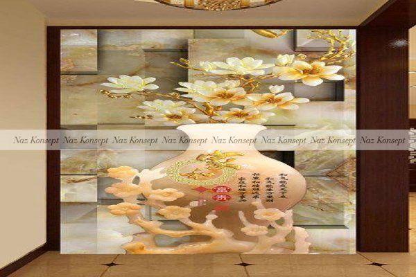 Vazo Temalı Duvar Kağıdı 16