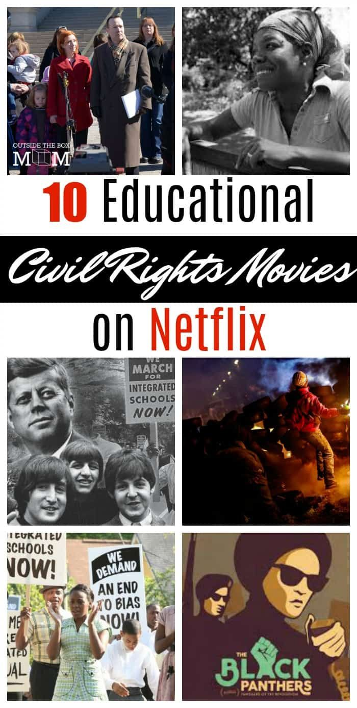 These civil rights movies on Netflix feature historical documentaries surrounding the trials of Black and African-American people during the 1960s. Brush up on history, stimulate conversations with your children, or use in homeschooling with Netflix.  What are civil rights? Civil and political rights are a class of rights that protect individuals' freedom from infringement by governments, social organizations,...Read More »