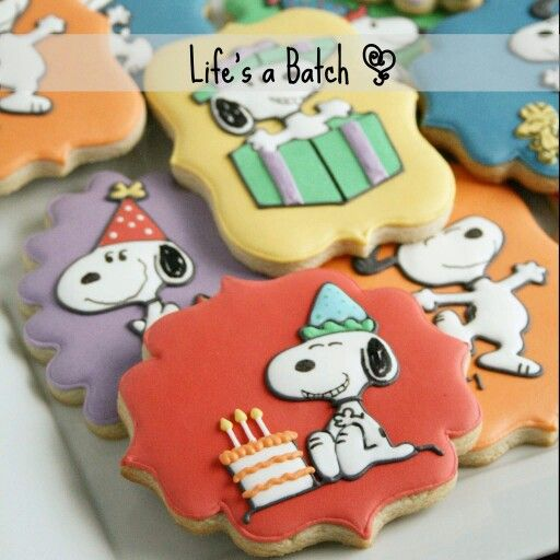 www.cakecoachonline.com - sharing....Snoopy Cookies