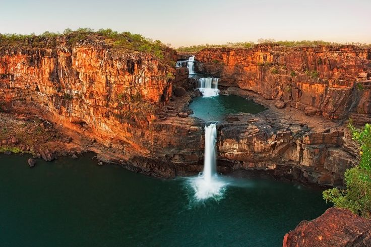 Mitchell Falls — A 4-tiered Australian Waterfall. Need to find out more about this one! Wonder where it is.