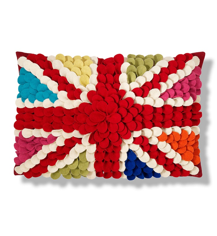 For UK lovers!!    Cojín con la bandera del Reino Unido en 3D en M