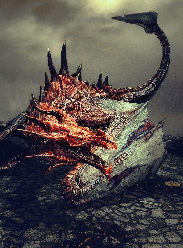 The Elder Scrolls V Skyrim Special Edition dragon