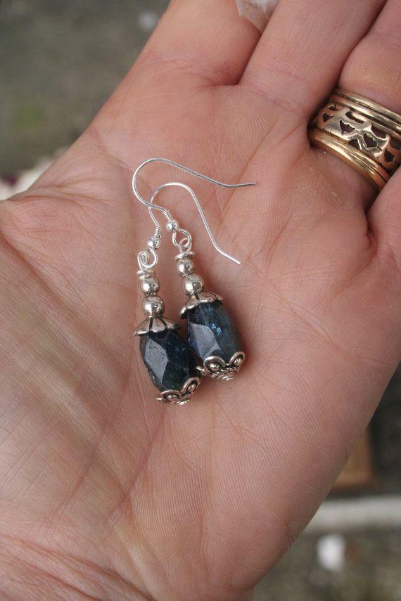 Gemstone Earrings Sterling Earrings Silver earrings