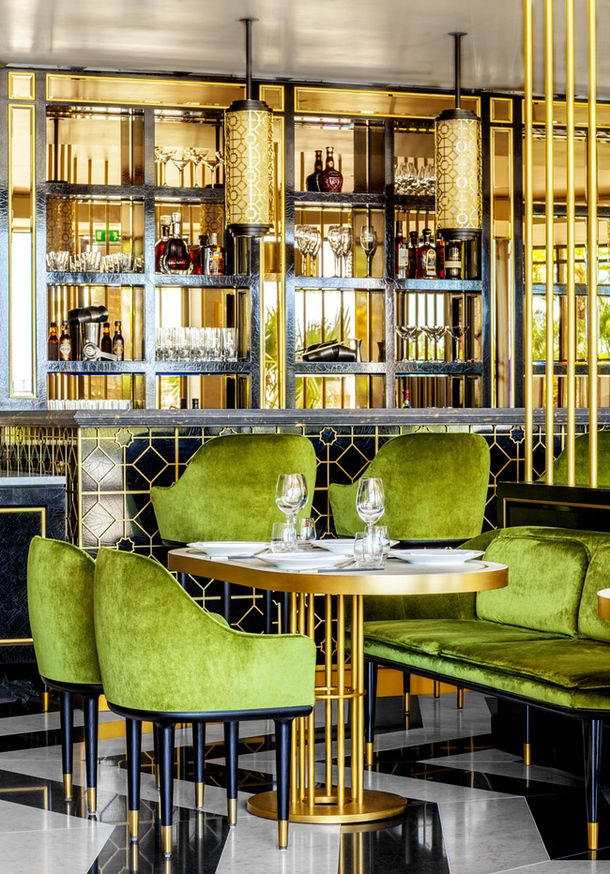 Exceptionnel Art Deco Bar Design #3: Restaurant Design: Song Qi, Monacou0027s First Gourmet Chinese Restaurant U2014 The  Decorista