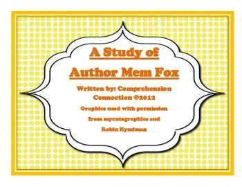 Mem Fox Mega Pack includes units for five of her books