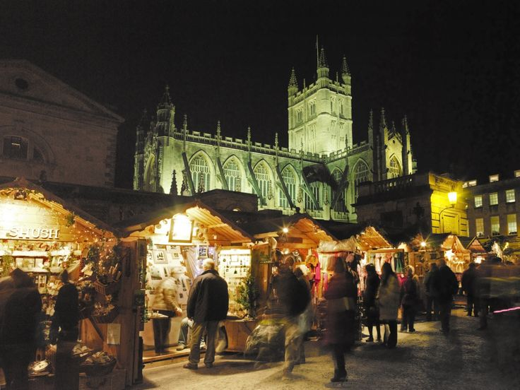 Bath Christmas Market Copyright Bath Tourism Plus / Colin Hawkins More Christmas Markets on @ebdestinations