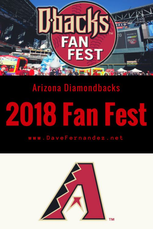 It's almost Spring Training time here in the valley! Arizona Dback's #fanfest kicks off tomorrow afternoon. #springtraining #letsgoDBacks