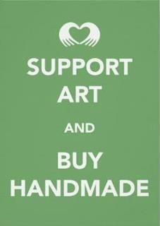 handmade  @hautecards: support art and buy handmade - help local businesses create innovation, shop unique artwork!