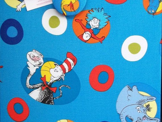 Dr Seuss Magnetic Board for Kids Bedroom  by rememorydesigns, $29.95