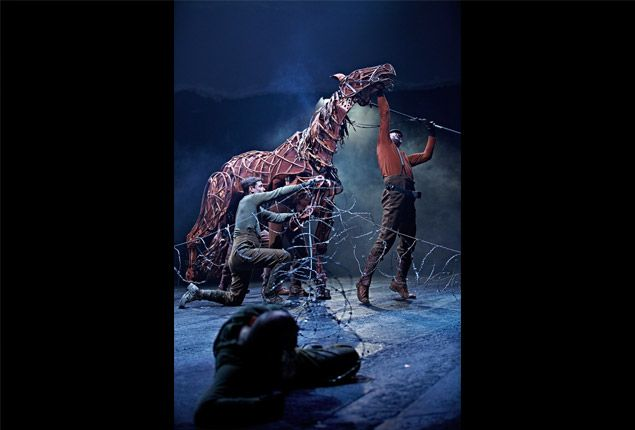 I've graduated specializing in the economics of the performing arts. My Master Thesis was on contact puppetry, such as War Horse.