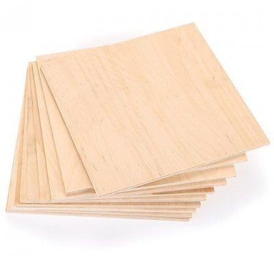 "3/8"" Baltic Birch: 12"" x 12"" Squares - Woodworkers Source"