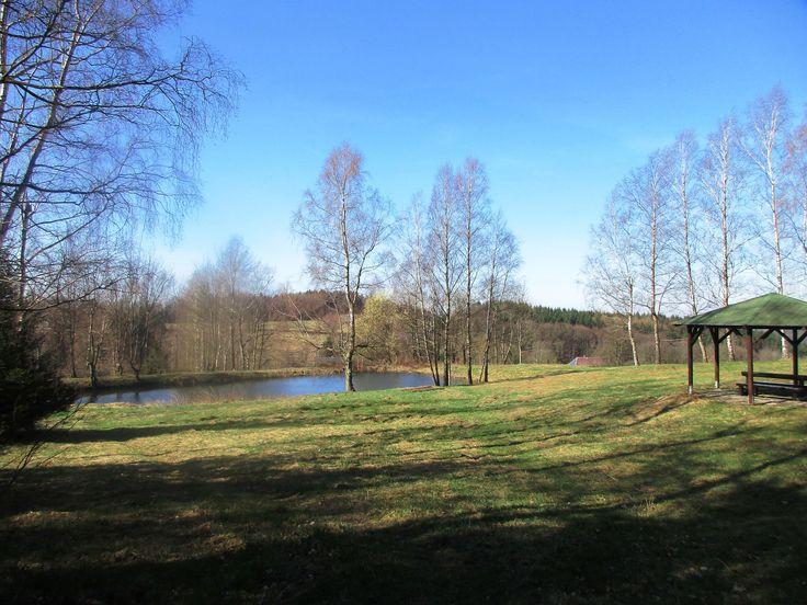 Rybník - Vlčí hora - severní Čechy