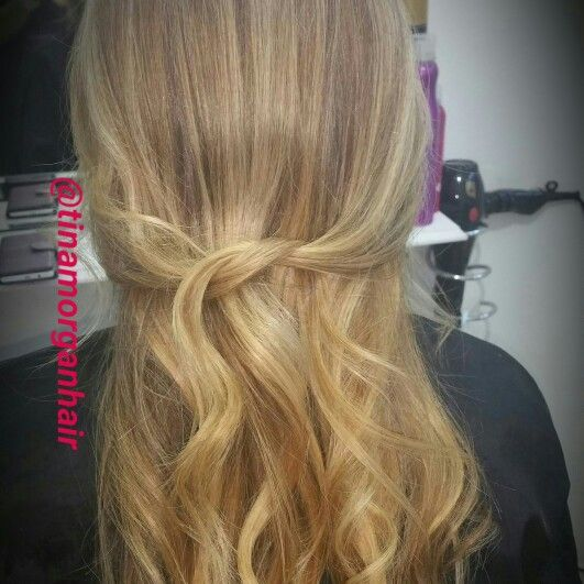 Babylights and balayage ❤ ❤ ❤ @tinamorganhair