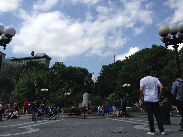 Union Square, NYC.