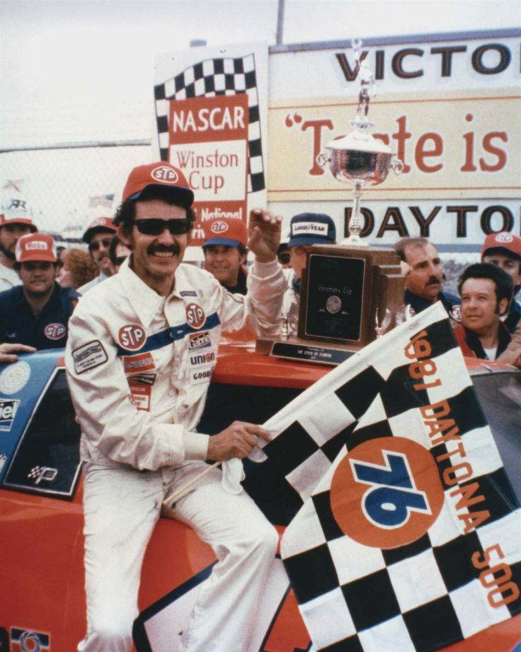 Win No. 193  Date: Feb. 15, 1981  Race: Daytona 500  Track: Daytona International Speedway, 2.5-mile asphalt track.  Notable: A strategic final pit stop for fuel only helped guide Petty to the last of his record seven Daytona 500 wins.