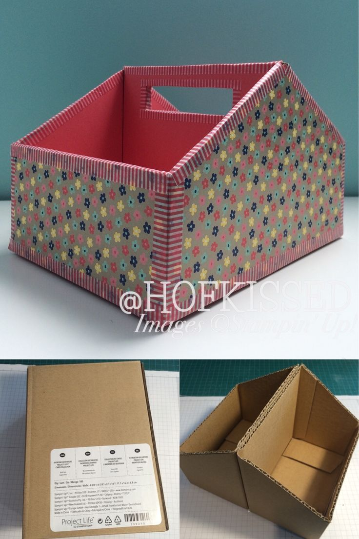 Hofkissed: A Portfolio of Recent Work - project life, upcycle, caddy, Stampin' Up!