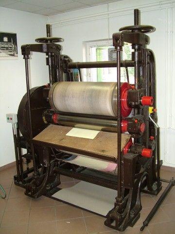 Papírmúzeum részlet
