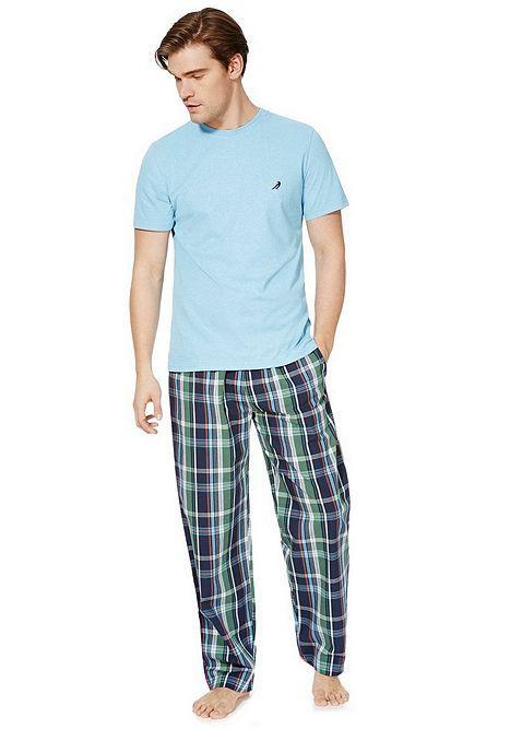 Tesco direct: F&F Checked Bottoms Loungewear Set
