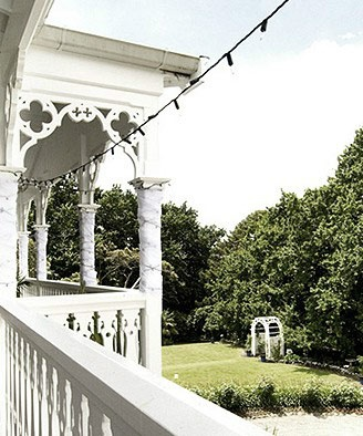 Ormlie Lodge − Ormlie Lodge is a gracious, two story villa overlooking the Napier Golf course : an elegant, romantic, befitting venue for a wedding...
