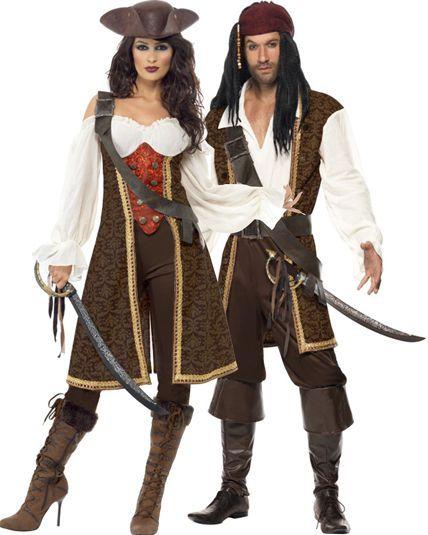 Couple Pirate Haute Mers - Deguisement Adulte En Couple Le Deguisement.com