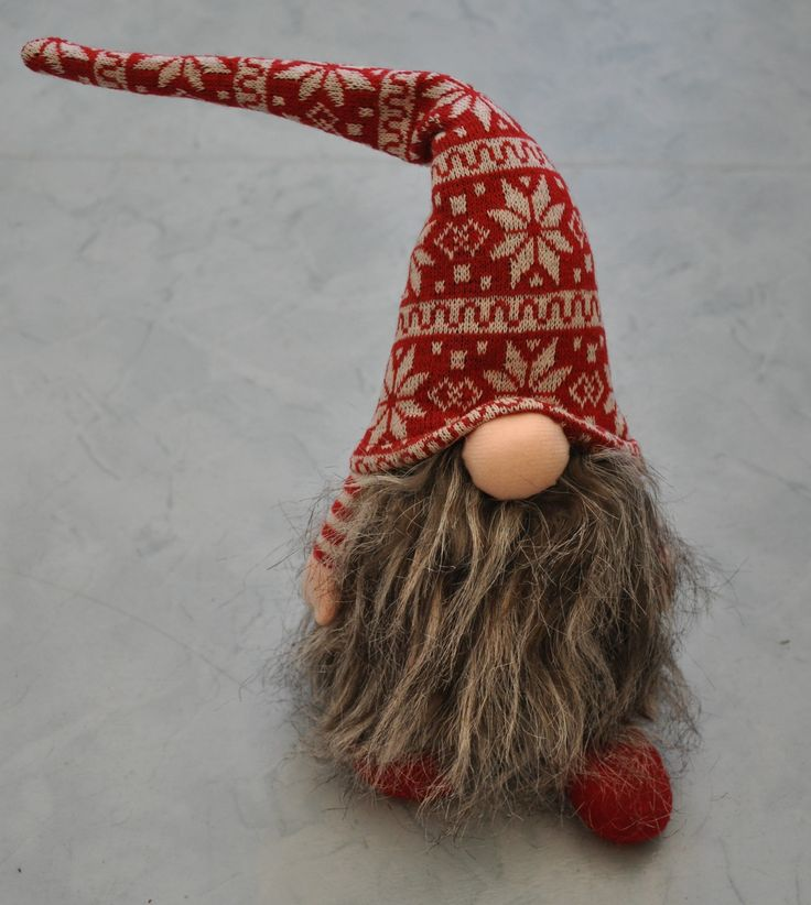 A Tomte - My first Swedish Christmas decoration. https://www.facebook.com/pages/Swedish-Outlook/663554760379416?ref=hl