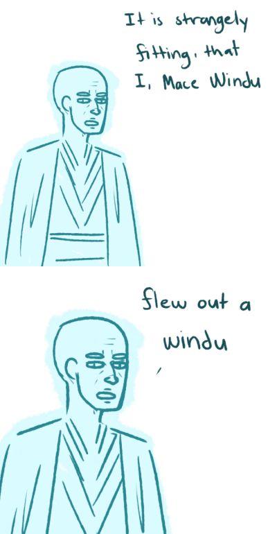 Mace Windu's destiny XD | by cupcakelogic on Tumblr