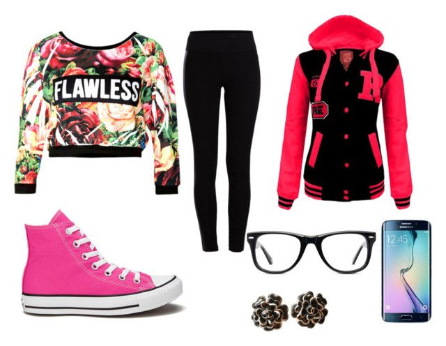 spring by dj-eyecandy on Polyvore featuring Pieces, Converse, Chanel and Muse