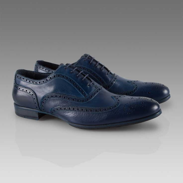 Paul Smith Shoes | Blue Miller Brogues