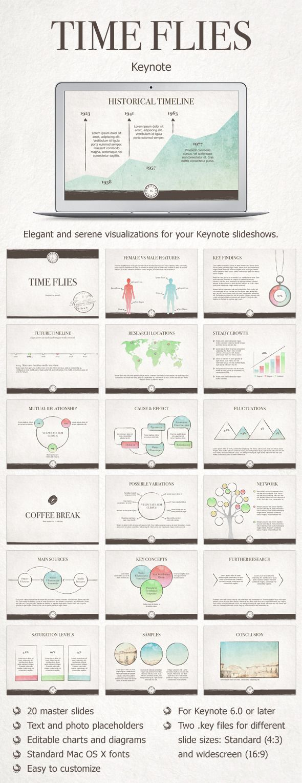 Time Flies Keynote Template #design #slides Download: http://graphicriver.net/item/time-flies-keynote-template/12438527?ref=ksioks
